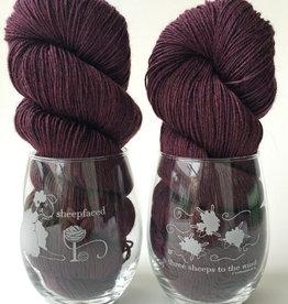 knitbaahpurl Stemless Wine Glass
