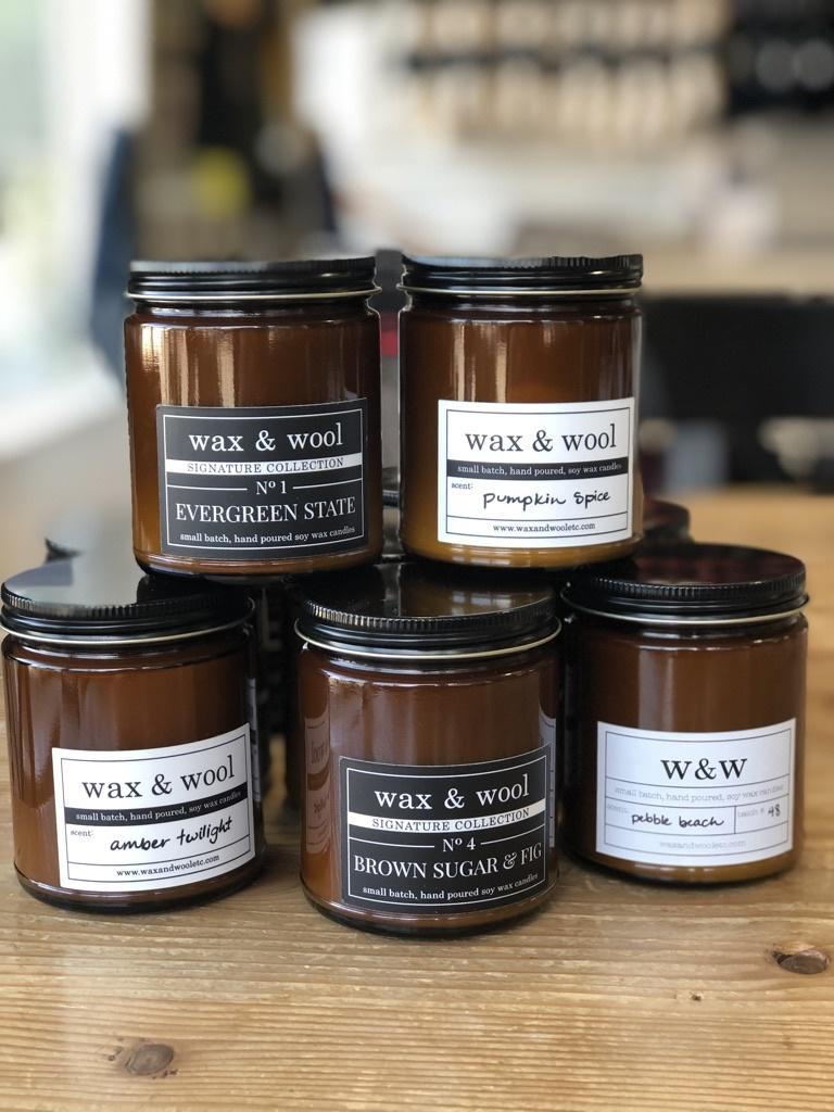 Wax and Wool Wax & Wool Candles