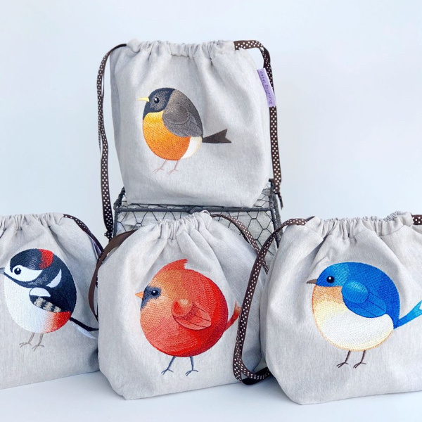 Wuthering Sheep Roly Poly Bags