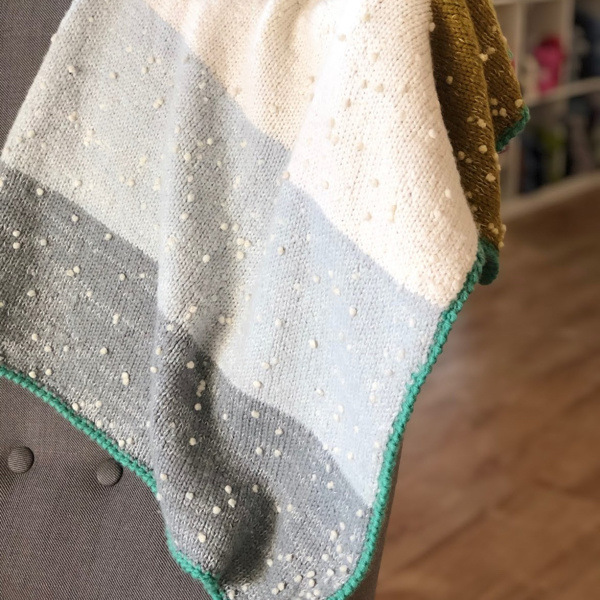 Big Bad Wool Oshare S'more Blanket Kit