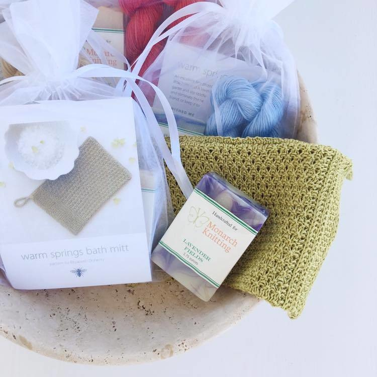 Warm Springs Bath Mitt Kit
