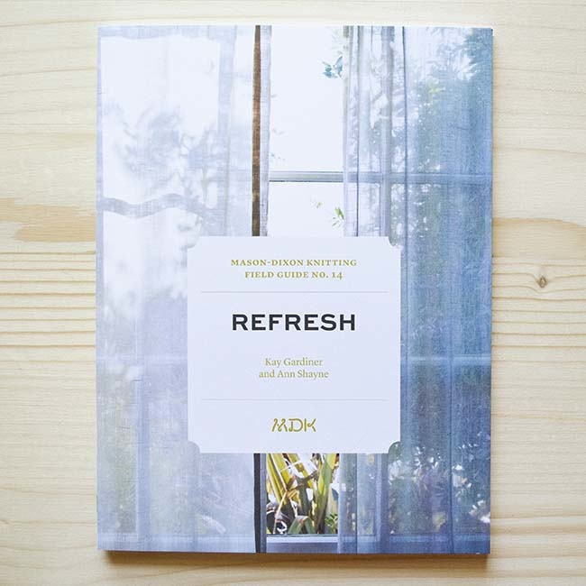 Modern Daily Knitting Field Guide No. 14 - Refresh