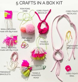 The Loome Loome Kit: 5 Crafts in a Box/Pastel