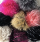 Big Bad Wool Raccoon Pom Pom XL