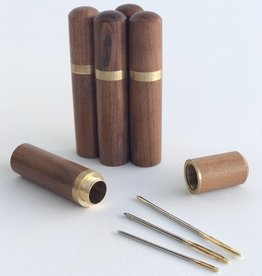 Sandalwood Tapestry Needle Case