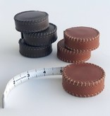 Hand-Stitched Leather Tape Measure