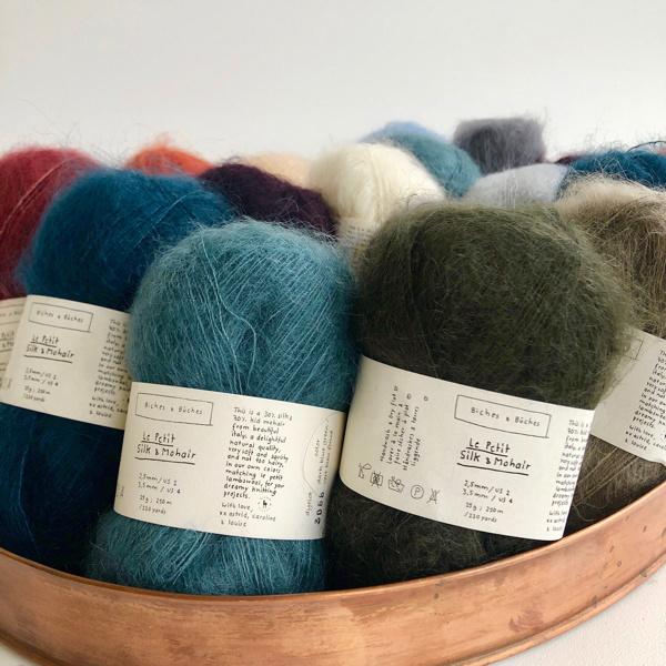 Biches et Buches Le Petit Silk Mohair