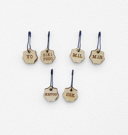 Katrinkles Increase / Decrease Stitch Marker Set- Card of 6 Pins