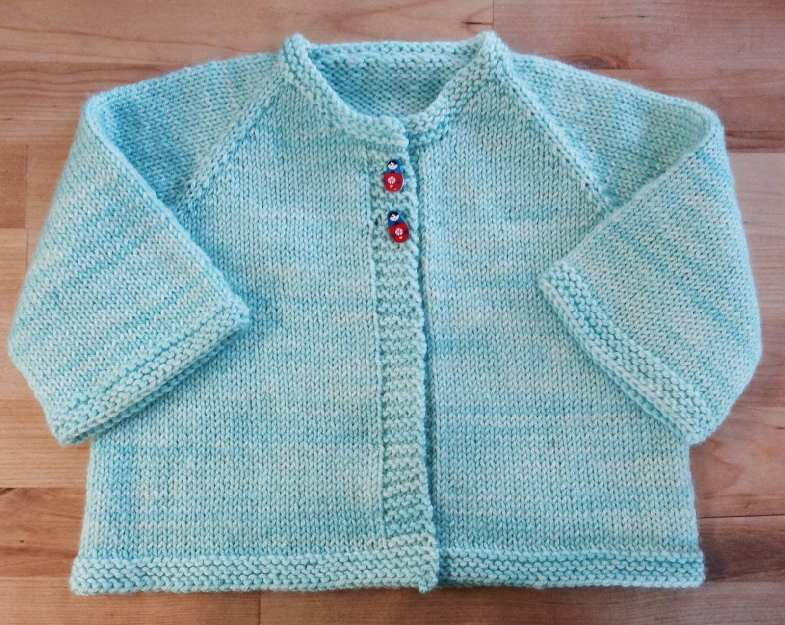 Learn to Knit a Sweater with the Cradle Cardigan