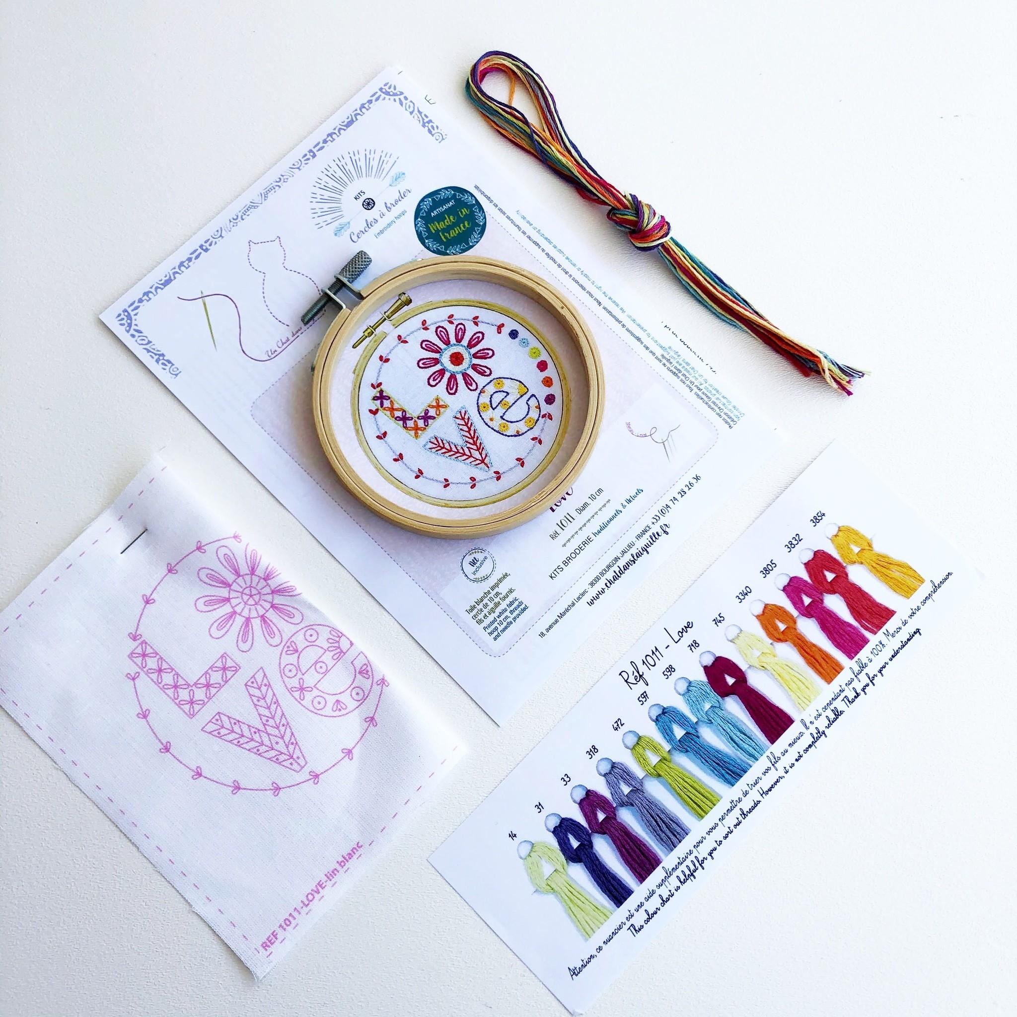 Un Chat dans l'Aiguille Embroidery Kit