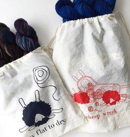 knitbaahpurl Sheep Wreck Project Bag