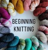 Beginning Knitting - April