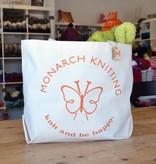 Monarch Knitting Tote Bag