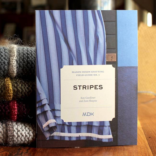 Modern Daily Knitting Field Guide No. 1 - Stripes
