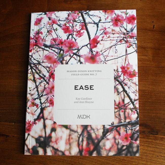 Modern Daily Knitting Field Guide No. 7 - Ease
