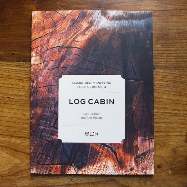 Modern Daily Knitting Field Guide No. 4 - Log Cabin