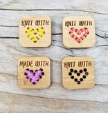 Katrinkles Knit with Love Tags - Card of 4