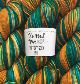 Knitted Wit Victory Sock - Her Story Sock Club August 2018