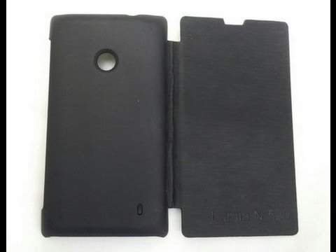 on sale ea36d 558f3 Nokia Lumia 520 Flip Cases