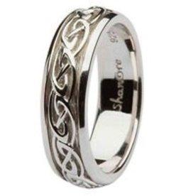 S/S Celtic Knot Ladies Ring