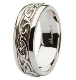 S/S Celtic Knot Gents Ring