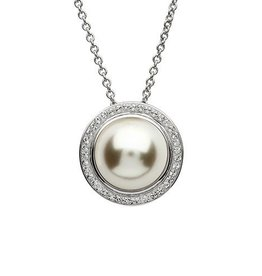 S/S Swarovski Pearl Necklace