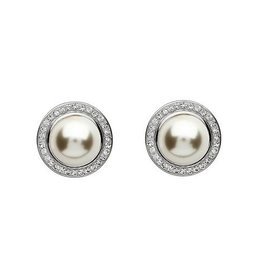 S/S Swarovski Pearl Earrings