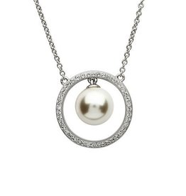 S/S Swarovski Pearl Drop Necklace
