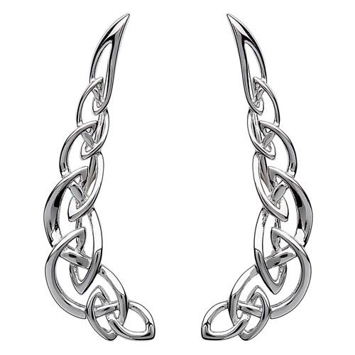 S/S Celtic Climber Earrings