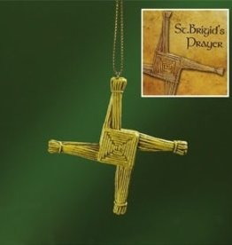 St. Brigid's Cross Ornament