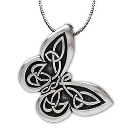 Celtic Knot Works Celtic Butterfly Pendant
