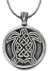 Celtic Knot Works Celtic Turtle Pendant