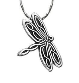Celtic Knot Works Celtic Dragonfly Pendant