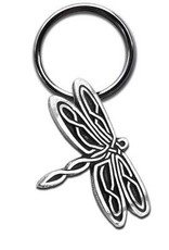 Celtic Knot Works Celtic Dragonfly Keychain