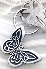 Celtic Knot Works Celtic Butterfly Keychain