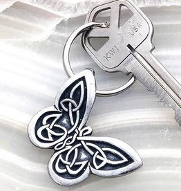Celtic Knot Works Celtic Butterfly Keychain