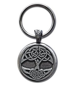 Celtic Knot Works Celtic Tree of Life Keychain