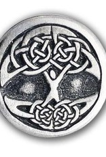Celtic Knot Works Celtic Tree of Life Pewter Pin