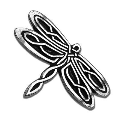 Celtic Knot Works Celtic Dragonfly Pewter Pin