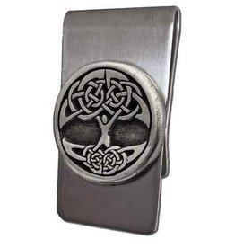 Celtic Knot Works Celtic Tree of Life Money Clip