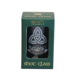 Irish Trinity Knot Shot Glass