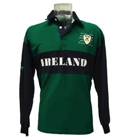 Lansdowne Piqué Long Sleeve Rugby Shirt