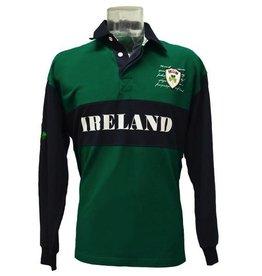 Lansdowne Piqué Long Sleeve Rugby Shirt