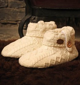 Aran Woollen Mills Unlimited Kids Knitted Boot Slipper