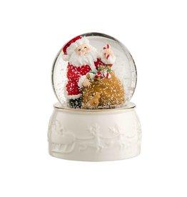Belleek Santa Snowglobe