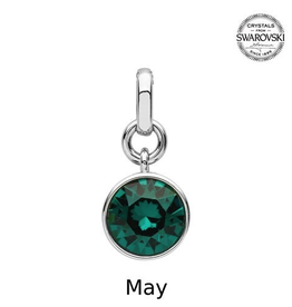 S/S May (Emerald) Swarovski Charm