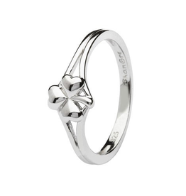S/S Shamrock Ring