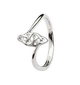 S/S Double Trinity Knot Ring