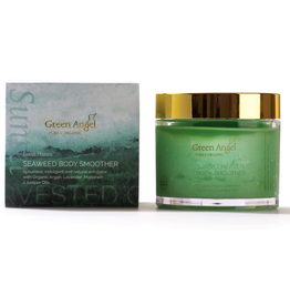 Green Angel - Pure & Organic Sunset Heaven Seaweed Body Smoother with Organic Argan, Lavender, Marjoram & Juniper Oils - 400g