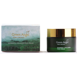 Green Angel - Pure & Organic Seaweed and Collagen Face Cream - 50ml